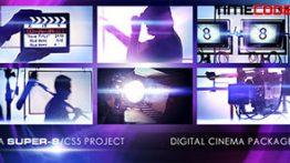 دانلود پروژه آماده افتر افکت با تم سینمایی Digital Cinema Package