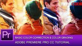 آموزش اصلاح رنگ قسمتی از فیلم در پریمیر در 3 مرحله
