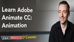 دانلود رایگان آموزش ادوب انیمیت – متوسط Lynda – Learn Adobe Animate CC: Animation