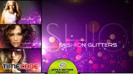 دانلود رایگان تمپلیت آماده اپل موشن Fashion Glitters Apple Motion