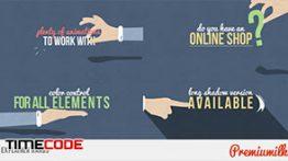 دانلود بسته موشن گرافیک دست مخصوص افترافکت Explainer Hands