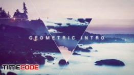 دانلود پروژه آماده افترافکت همراه با موسیقی Geometric Intro