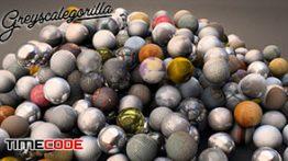 دانلود پلاگین متریال مخصوص سینما فوردی GreyscaleGorilla Texture Kit 3