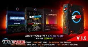 دانلود بسته عظیم پریست اصلاح رنگ فیلم [پریمیر + افتر افکت] CINEPUNCH Master Suite v20