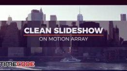 دانلود اسلایدشو مخصوص پریمیر همراه با موسیقی Clean Slideshow