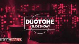 دانلود پروژه آماده افترافکت همراه با موسیقی Duotone Slideshow