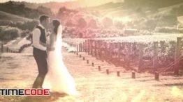 پروژه افترافکت مخصوص کلیپ عروسی همراه با موسیقی Wedding Clip
