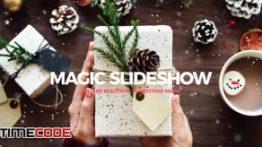 دانلود پروژه آماده پریمیر همراه با موسیقی Christmas Slideshow