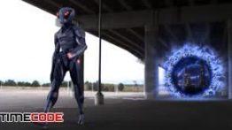 آموزش کامپوزیت آدم فضایی توسط نیوک Compositing an Alien Portal in NUKE