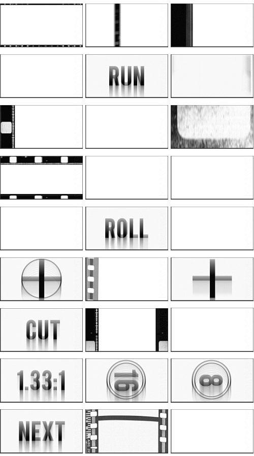 دانلود مجموعه فوتیج فریم های نگاتیو Rampant Design Tools