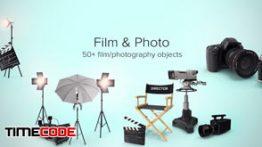 دانلود مجموعه عکس بدون پس زمینه : فیلم و دوربین عکاسی PixelSquid Film & Photo Collection