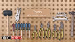 دانلود مجموعه عکس بدون پس زمینه : ابزار آلات PixelSquid Hand Tools Collection