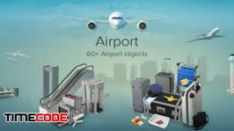 دانلود مجموعه عکس بدون پس زمینه : فرودگاه PixelSquid Airport Collection