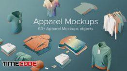 دانلود مجموعه عکس بدون پس زمینه : موکاپ لباس PixelSquid Apparel Mockups Collection