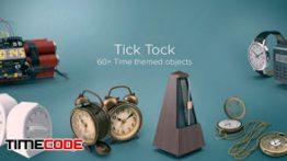 دانلود مجموعه عکس بدون پس زمینه : ساعت PixelSquid Tick Tock Collection