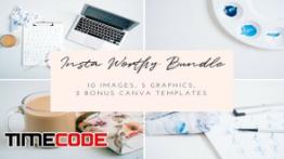 دانلود مجموعه عکس استوک برای اینستاگرام Maker Styled Stock Photo Bundle | 1