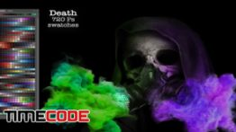 دانلود پالت رنگ فتوشاپ Death Ps Swatches