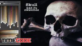 دانلود پالت رنگ فتوشاپ Skull Ps Swatches
