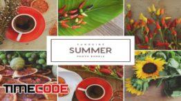 دانلود تصاویر استوک قهوه روی میز Sanguine Summer
