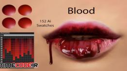 دانلود سواچ ایلستریتور Blood Ai Swatches