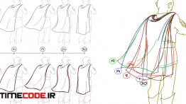 دانلود آموزش انیمیشن دو بعدی لباس و مو Animating in 2D: Hair and Clothing