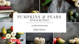 دانلود تصاویر استوک کدو تنبل و گلابی Pumpkins & Pears