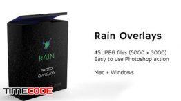 دانلود 45 تصویر با افکت باران Rain Photo Overlays