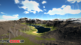 دانلود مدل آماده سه بعدی : منظره 4K Landscape Pack