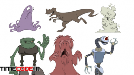 دانلود آموزش طراحی کاراکتر های کارتونی Animation Foundations: Drawing Cartoon Characters