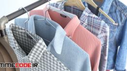 دانلود مدل آماده سه بعدی : پوشاک مردانه A Set Of Clothing And Footwear
