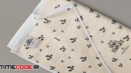 دانلود طرح لایه باز حوله Elegant Full Towel Design Template