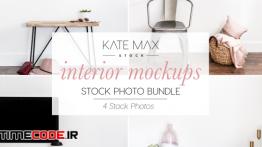 دانلود عکس استوک دکوراسیون داخلی Interior Mockups Stock Photo Bundle