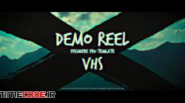 دانلود پروژه آماده پریمیر : وله به سبک نوار ویدئویی Demo Reel VHS