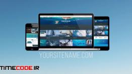 دانلود پروژه آماده پریمیر : معرفی وب سایت Website Presentation