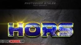 دانلود استایل آماده فتوشاپ 12 Photoshop Text Effect Vol 10
