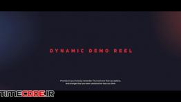 دانلود پروژه آماده افترافکت : وله Dynamic Demo Reel