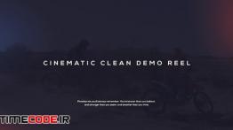 دانلود پروژه آماده افترافکت : دمو ریل Cinematic Demo Reel
