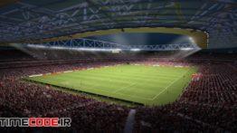 دانلود مدل آماده سه بعدی : استادیوم ورزشی Soccer Stadium ES