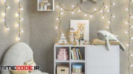 دانلود مدل آماده سه بعدی : ست ایکیا اتاق کودک IKEA Modular Furniture, Accessories, Decor And Toys Set 6