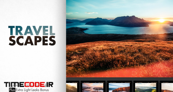 دانلود پریست لایت روم مخصوص عکس منظره TRAVEL SCAPES | LR Landscape Looks