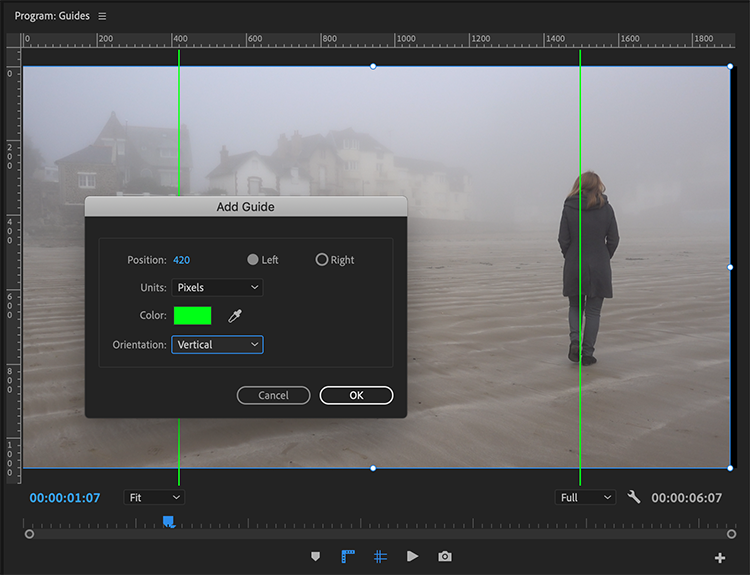How to Add Grids and Guides in Premiere Pro CC
