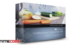 دانلود مدل آماده سه بعدی : غذا و خوراکی 3D Food IV – CGAxis Collection Volume 58