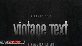 دانلود استایل متن فتوشاپ Black Retro Effects