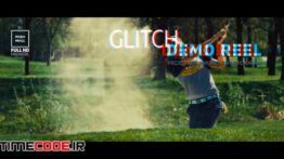 دانلود پروژه آماده پریمیر : دمو ریل Glitch Demo Reel