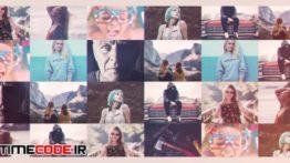 دانلود پروژه آماده افترافکت : تیزر تبلیغاتی نمایش نمونه کار + موسیقی My Portfolio Promo