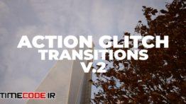 دانلود پریست پریمیر : ترنزیشن نویز و پارازیت Action Glitch Transitions