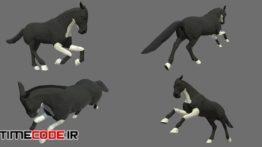 دانلود مدل آماده سه بعدی : حیوانات وحشی Animals Africa Cartoon Collection – Animated 04