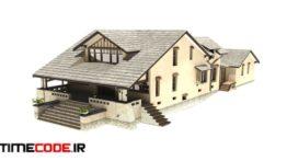 دانلود مدل آماده سه بعدی : خانه ویلایی Family House