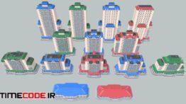 دانلود مدل آماده سه بعدی : برج و آپارتمان Curated Digital Assets & Resources