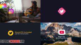 دانلود پروژه آماده فاینال کات پرو : لوگو فلت Simple Liquid Logo